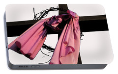 Portable Battery Charger featuring the photograph He Is Risen by Douglas Stucky