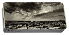 Portable Battery Charger featuring the photograph Here Comes The Storm 06 by Arik Baltinester