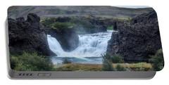 Hjalparfoss - Iceland Portable Battery Charger