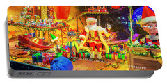 Holiday Widow Display In New York Portable Battery Charger