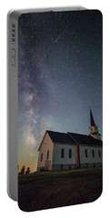 Portable Battery Charger featuring the photograph Holy  by Aaron J Groen
