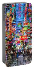 Hong Kong City Nightlife Portable Battery Charger