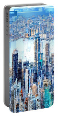 Hong Kong Skyline Portable Battery Charger