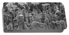 Hoodoos After A Snowfall Portable Battery Charger by Sue Smith