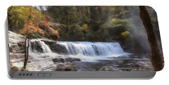 Hooker Falls Portable Battery Charger by Ricky Dean
