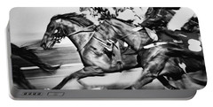 Horse Racing Portable Battery Charger