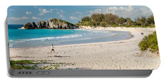 Horseshoe Bay In Bermuda Portable Battery Charger