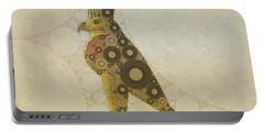 Horus, Egyptian God By Mary Bassett Portable Battery Charger