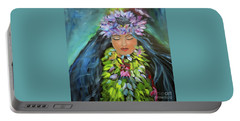 Hula Maiden Portable Battery Charger