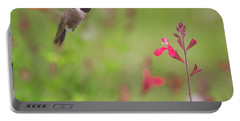 Hummingbird And Sage Portable Battery Charger