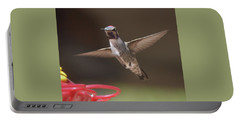 Hummingbird Anna's In Flight Portable Battery Charger
