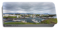Iceland Fisherman Harbor Portable Battery Charger
