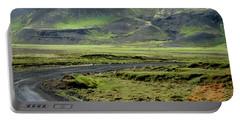 Icelandic Landscape Portable Battery Charger