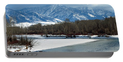 Idaho Winter River Portable Battery Charger