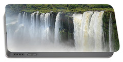 Portable Battery Charger featuring the photograph Iguazu Falls by Silvia Bruno