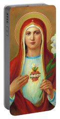 Immaculate Heart Of Mary Portable Battery Charger