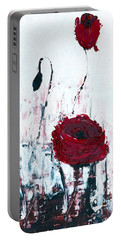 Impressionist Floral B8516 Portable Battery Charger