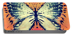 Portable Battery Charger featuring the painting In Flight by 'REA' Gallery