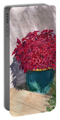 Portable Battery Charger featuring the painting In The Morning by Melly Terpening