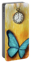 In The Time Of The Butterflies Portable Battery Charger