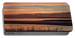 Inlet Watch Sunrise Portable Battery Charger by Phil Mancuso