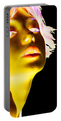 Inverted Realities - Yellow  Portable Battery Charger