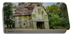 Iowa Barn Portable Battery Charger by Ray Congrove