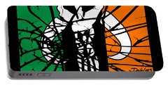 Irish Mandalorian Flag Portable Battery Charger