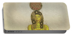 Isis, Mother Goddess Of Egypt By Mary Bassett Portable Battery Charger