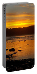 Island Sunset Portable Battery Charger by Blair Stuart
