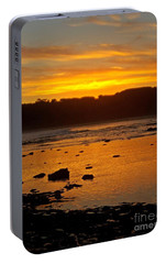 Portable Battery Charger featuring the photograph Island Sunset by Blair Stuart