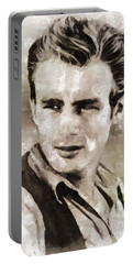 James Dean Hollywood Legend Portable Battery Charger