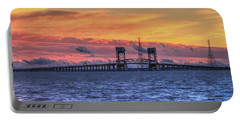 James River Bridge Portable Battery Charger by Jerry Gammon
