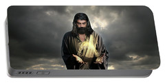 Jesus Christ- Look I Am Coming Soon Portable Battery Charger