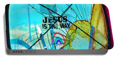 Jesus Is The Way Portable Battery Charger