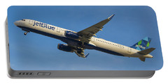 Jet Blue Portable Battery Charger