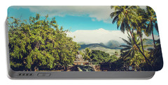 Portable Battery Charger featuring the photograph Jodo Shu Mission Lahaina Maui Hawaii by Sharon Mau
