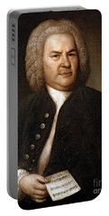 Johann Sebastian Bach, German Baroque Portable Battery Charger