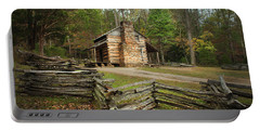 John Oliver Cabin Cades Cove Portable Battery Charger
