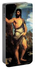 John The Baptist Portable Battery Charger
