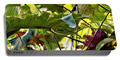 Portable Battery Charger featuring the photograph Jungle Jive by Mindy Newman