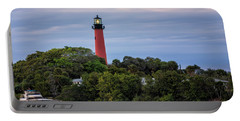 Jupiter Inlet Lighthouse Portable Battery Charger by Fran Gallogly