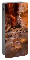 Portable Battery Charger featuring the photograph Kanarraville Creek by Dustin  LeFevre
