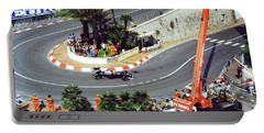 Karl Wendlinger Monaco Grand Prix Portable Battery Charger