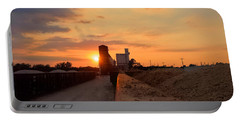 Katy Texas Sunset Portable Battery Charger