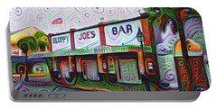 Key West Florida Sloppy Joes Bar Portable Battery Charger by Bill Cannon
