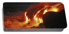 Kilauea Lava Flow Sea Entry, Big Portable Battery Charger