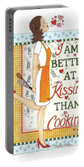 Kissing Cooking Portable Battery Charger