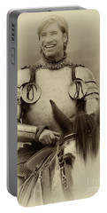 Portable Battery Charger featuring the photograph Knights Of Old 12 by Bob Christopher