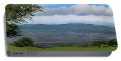 Portable Battery Charger featuring the photograph Kohala Mountain by Pamela Walton